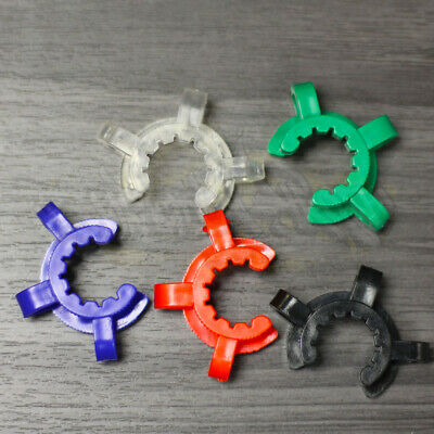 5 Color Keck Clip Plastic Pom 1926 1423 18.8mm 14.4mm Glass Ground Joint