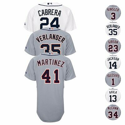 Detroit Tigers Authentic MLB On-Field MAJESTIC Classic Jersey Collection Men's