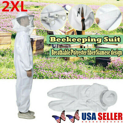 Anti Bee Beekeeper Suits Beekeeping Veil Bee Keeping Full Body Protect Sets 2xl