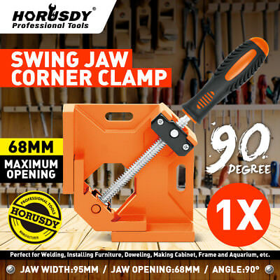 90right Angle Clamp Adjustable Corner Vise For Wood-working Engineering Welding