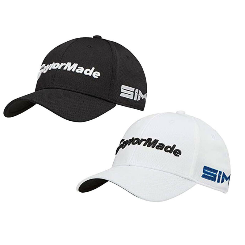 NEW TaylorMade Tour Cage Fitted Golf Hat w SIM TP5 Logo 2020 Choose Size & Color