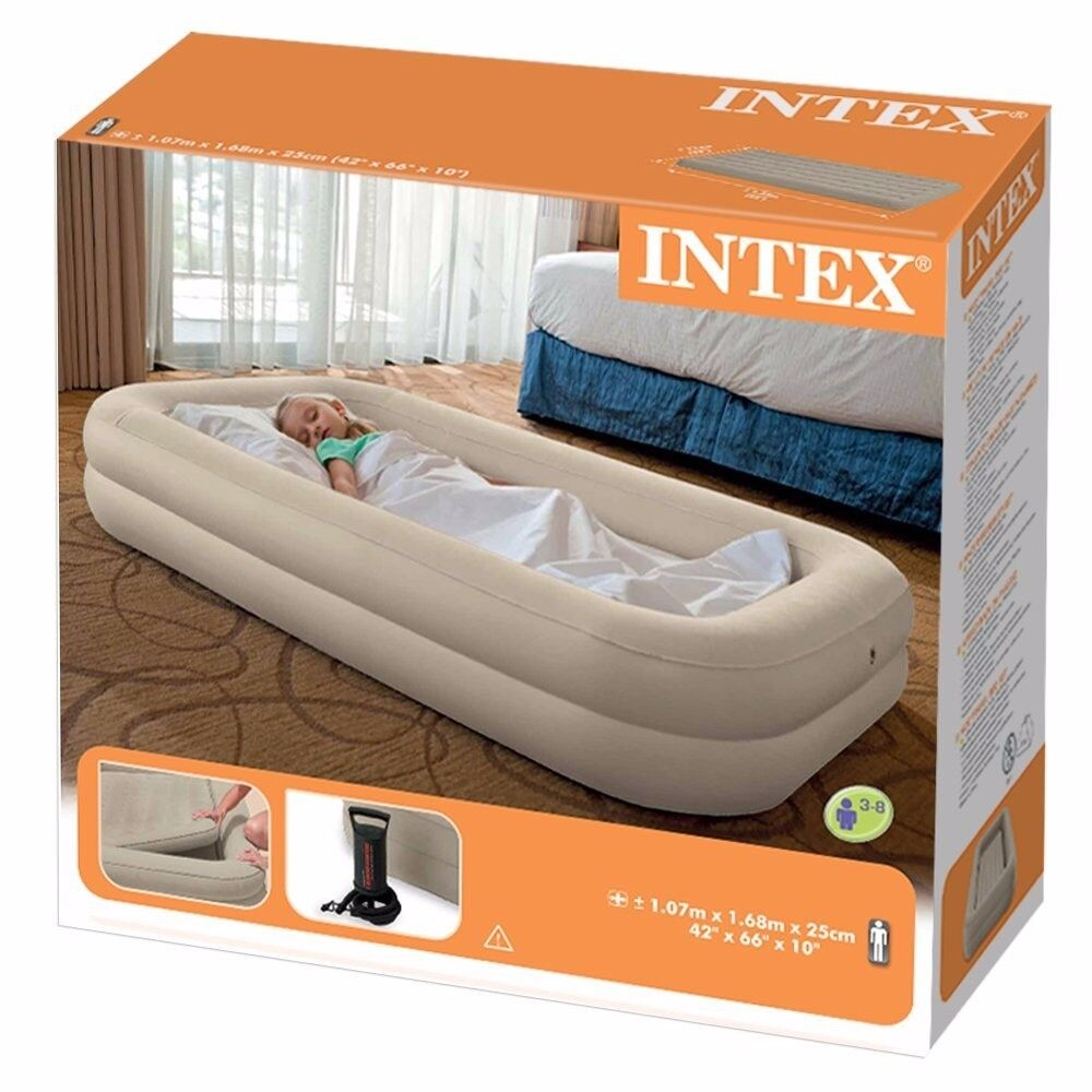 new concept aa9c1 da68f Intex toddler air bed portable, travel | in Birstall, Leicestershire |  Gumtree