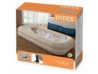 Intex toddler air bed portable, travel