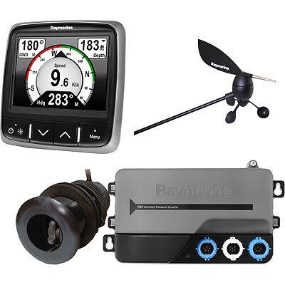 Raymarine i70s System Pack, Wind, Depth, Speed