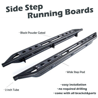 For 2019 Ram 1500 Classic Quad Cab Off-Road Armor Side Step Bars Running Boards