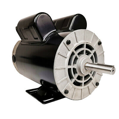 2hp Spl Compressor Duty Electric Motor 3450 Rpm 56 Frame 58 Shaft 120240v Usa