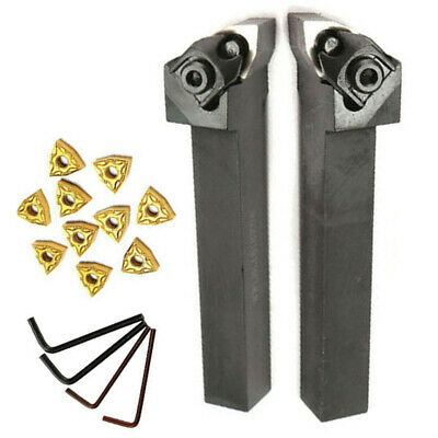Lathe Turning Boring Bar Holder Carbide Inserts Wrench Tool10 Wnmg080404 Insert