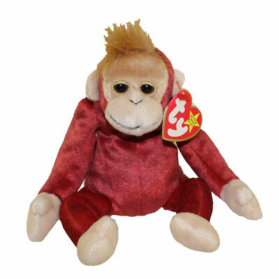 TY Beanie Baby - SCHWEETHEART the Monkey (8.5 inch) - MWMTs Stuffed Animal Toy