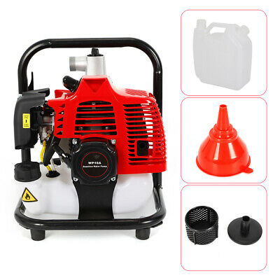 1 Inch 2stroke 1.7hp Petrol Water Transfer High Pressure Pump For Irrigation Us