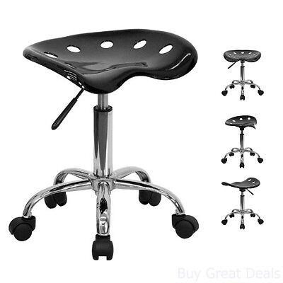 Modern Bar Stool Tractor Seat Pneumatic Chair Rolling Garage Office Furniture