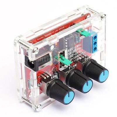 Xr2206 Signal Generator Module Diy Kit Output 1hz-1mhz Adjustable Frequency