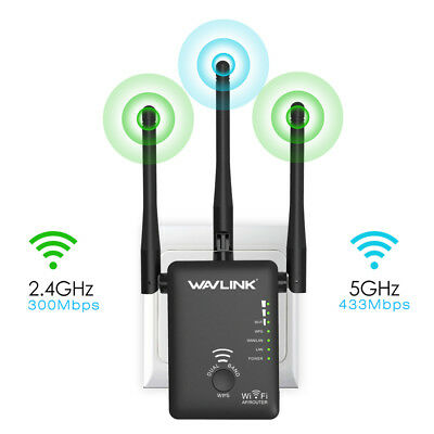 Wavlink AC750 Dual Band WiFi Repeater Wireless AP/Router WiFi Range Extender