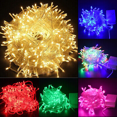 500LED Outdoor Fairy String Lights Christmas Tree Waterproof Wedding Mall Decor ()