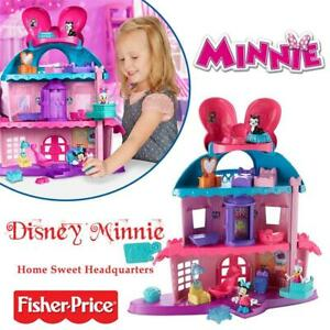 NEW Sealed Fisher-Price Disney Minnie Home Sweet Headquarters Condtion: NEW Sealed
