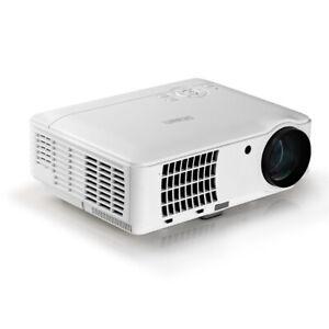 Devanti HD 1080P Video Projector 4000 Lumen LED Home Theatre Business Multimedia