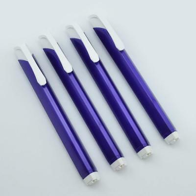 Pentel Tri Eraser - Retractable 3 Sided Erasers Purple Holder Bulk Quantity 4