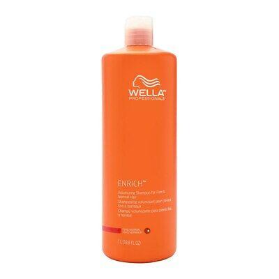 Wella Enrich Volume Shampoo Conditioner Fine Normal 33.8 oz
