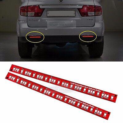 Rear Bumper Reflector Brake Lighting LED Modules for SSANGYONG 2005 - 2013 Kyron