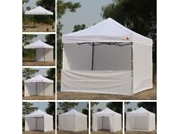 Activa 10ft x 10ft ( 3 x 3 m ) Instant Canopy with roller bag RRp £215