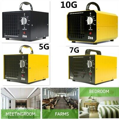 Ozone Generator 5000/7000/10000mg/h Commercial Air Purifier Home Car Deodorizer