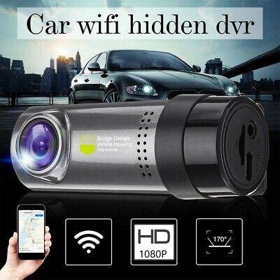 Wireless Wifi Hidden Car 1080P HD DVR Camera Dash Cam G-Sensor Video Recorder US