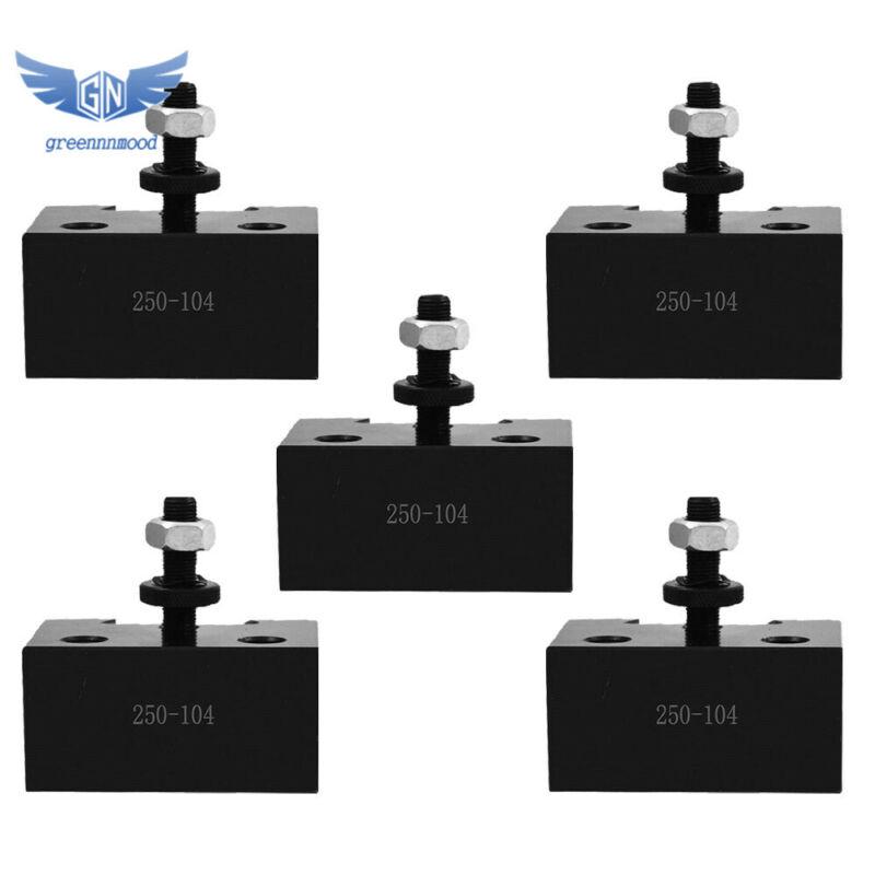 5Pcs AXA #4 Quick Change Heavy Duty Boring Bar Holder 250-104 CNC Tool Post USA