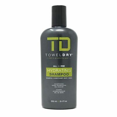 TD TowelDry All In One Hydrating Shampoo, 8.4 oz