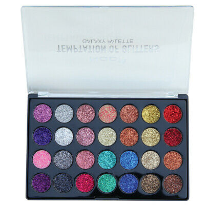 Galaxy Make Up (Nabi 28 colors Temptation of Glitters Galaxy eyeshadow palette)