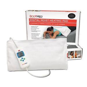 "Brand New BodyMed® Digital Moist Heating Pad, 14"" X 14"""