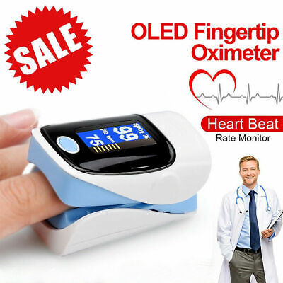 OLED Fingertip Pulse Oximeter Finger Blood Oxygen SpO2 PR Heart Rate Monitor New Business & Industrial