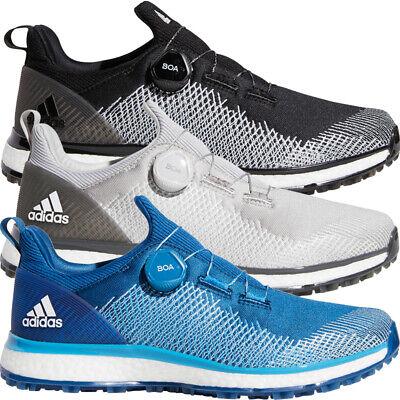 Adidas Golf Mens Forgefiber BOA Spikeless Lightweight Golf Shoes