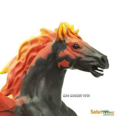 PYROIS Mythology Safari, Ltd. Mythical Realms #802729 Flaming HORSE NEW