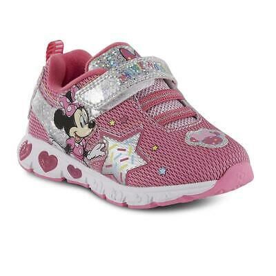 Shoes That Light Up (Minnie Mouse Sneakers Size 6 8 9 10 11 or 12 Disney Shoes that Light)