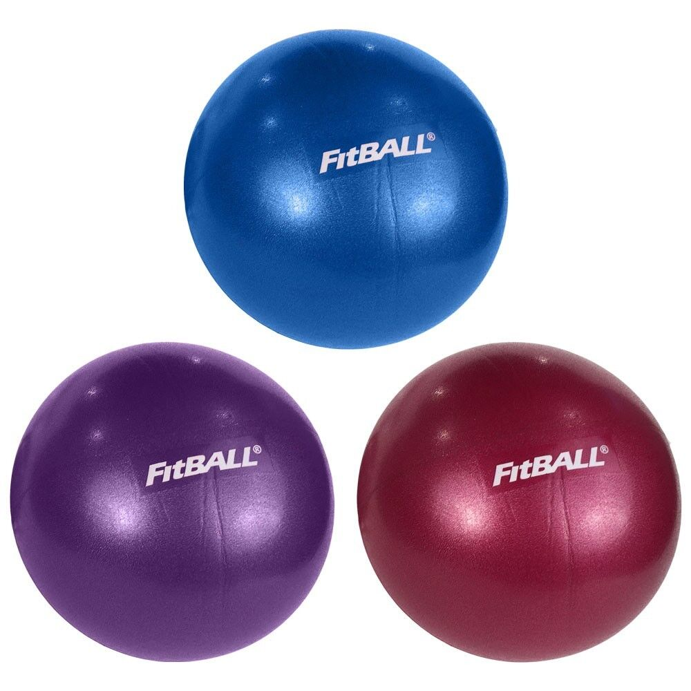 "FitBALL Mini Exercise Ball 9"" Yoga Pilates Crossfit"