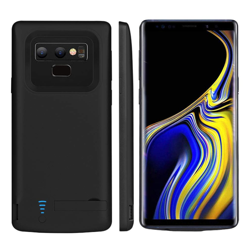 hot sale online cf7a2 8331e Details about RUNSY Samsung Galaxy Note 9 Battery Case, 5000mAh  Rechargeable Extended Charging