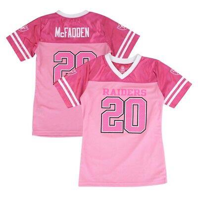 Darren McFadden NFL Oakland Raiders Fashion Pink Jersey Little Girls (4-6) Darren Mcfadden Jersey