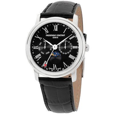 Frederique Constant Men's Classic Black Dial Watch FC270BR4P6