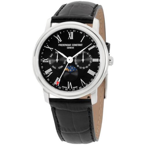 Frederique Constant Men's Classic Black Dial Watch FC270BR4P6 - watch picture 1