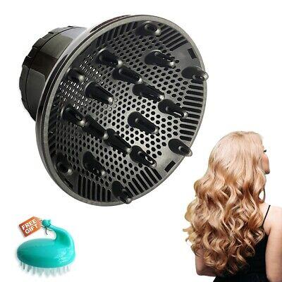 Universal-Haardiffusor, Haartrockner-Diffusoraufsatz für lockiges und welliges Haar