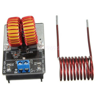 5-12v 120w Zvs Induction Heating Power Supply Module Tesla Coil Jacobs Ladder