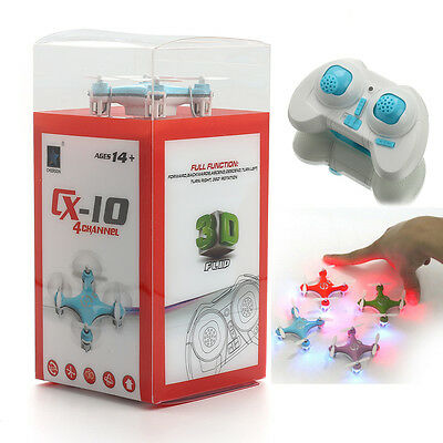 Usa Cheerson Cx 10 Stars Mini 2 4G 4Ch 6 Axis Led Rc Quadcopter Rtf Micro Drone