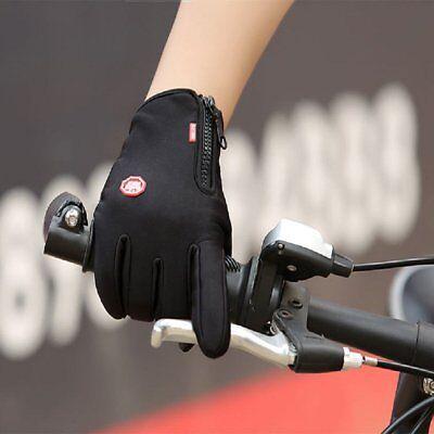 Winter Warm Windproof Waterproof Anti-slip Thermal Touch Screen Bike Gloves ILO