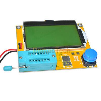 Lcr-t4 M328 Transistor Tester Diode Triode Esr Meter Capacitance Mos Inductance