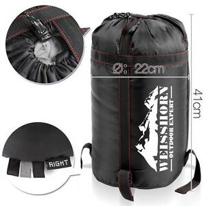 Camping Envelope Sleeping Bag Single Grey black delivered Perth Perth City Area Preview