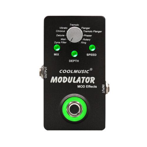 Coolmusic A-ME01 Digital Modulator Guitar Effects Pedal