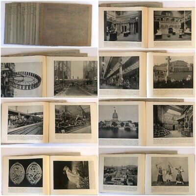 12 Volumes Columbian Exposition 1893 Chicago The Dream City 192 Large Photos
