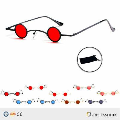 Steampunk Sunglasses Men Women Rock Style Retro Mini Cool Small Punk Glasses (Cool Sunglasses For Women)