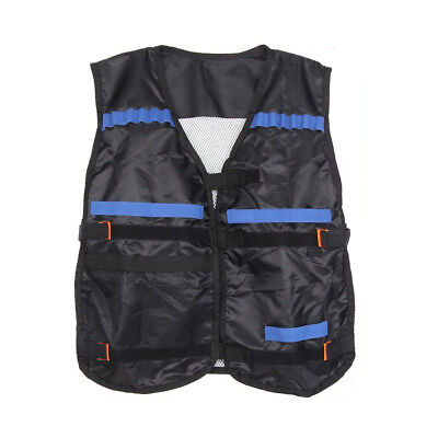 Top Tactical Vest For 12 Darts and 4 Ammo Clips In Nerf Elite N Strike S2S7