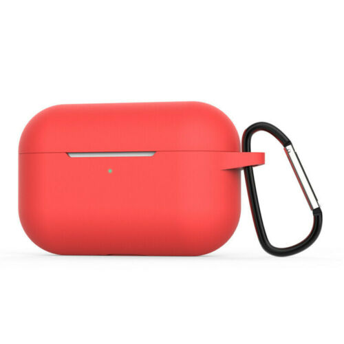 For Apple AirPods Pro Charging Case Silicone Protective Cover Holder Keychain US Cases, Covers & Skins