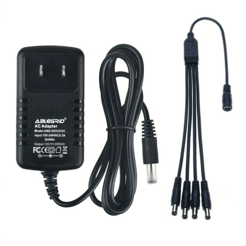 AC Power Adapter Charger For LEMAX #74706 CHRISTMAS VILLAGE With 4 Output Jacks